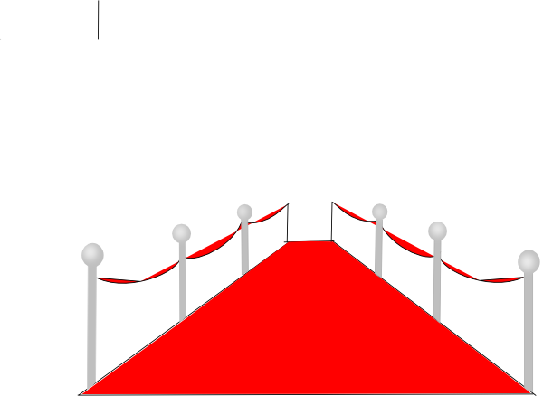 600x438 Red Carpet Clip Art