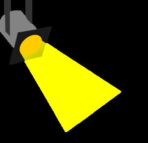 298x288 Small Spotlight Clip Art