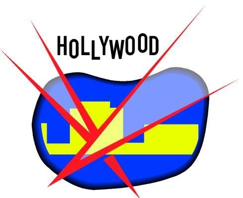 490x399 Cinema Clip Art Hollywood Rocks Theme Lights Movie Action Rock