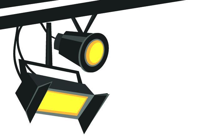 632x440 Light Clipart Theater Light