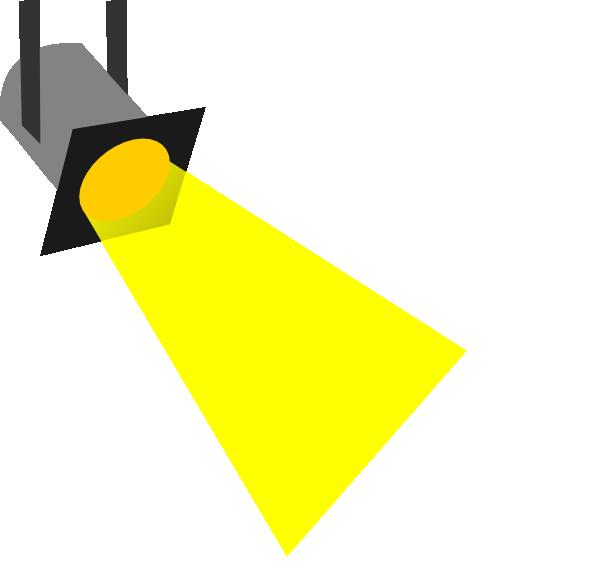 600x569 Spot Light Clip Art