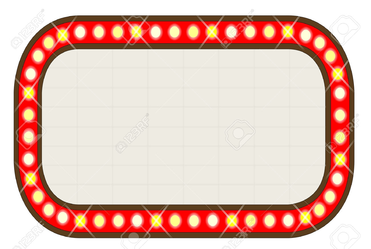 1300x875 Theatre Clipart Hollywood Light