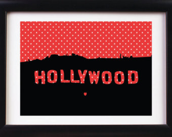340x270 Hollywood Sign Clipart