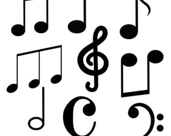 340x270 Music Clip Art Music Notes Svg Cut Files Music