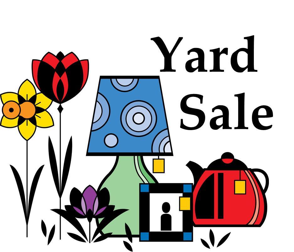 937x804 Yard Sales Flyers