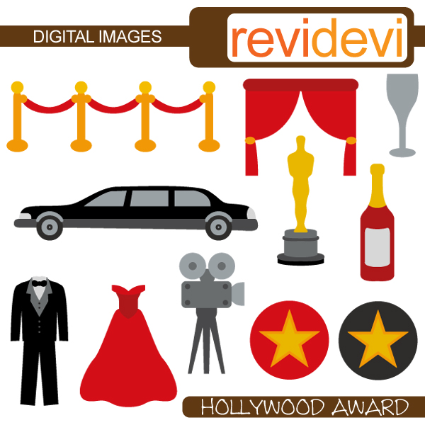 600x600 Hollywood Clipart Free