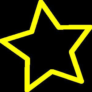 300x300 Star Clipart Blank