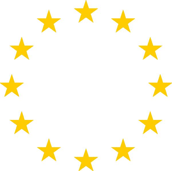 600x596 European Stars Clip Art