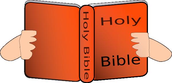 600x290 Orange Bible Clip Art