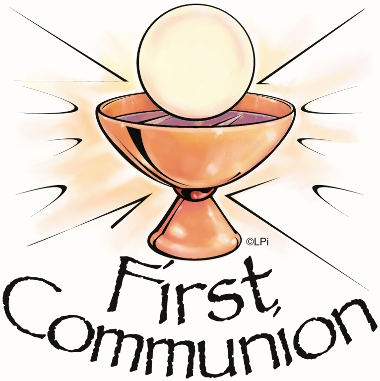 766x768 Clipart Communion First Free Holy
