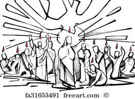 264x194 Free Holy Spirit Fire Art Prints And Wall Art Freeart