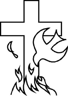 236x336 Holy%20spirit%20dove%20drawing Baptism Communion