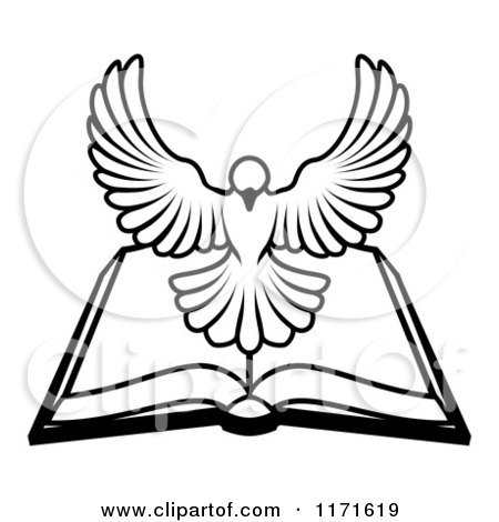 450x470 Clipart Of A Flying White Peace Dove
