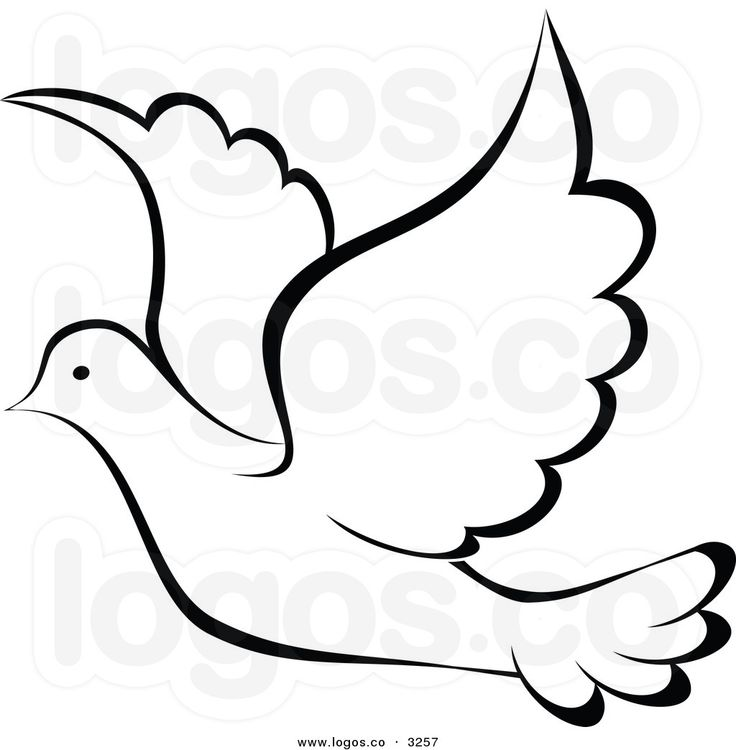 Holy Spirit Dove Clipart
