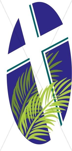 292x612 Holy Week Banner Lent Clipart