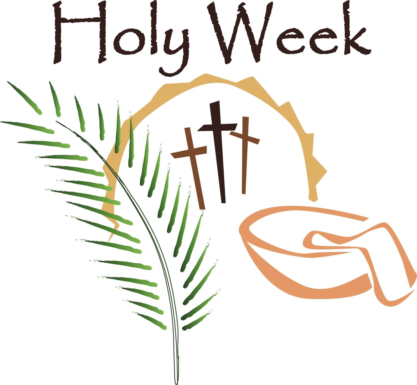 1600x1478 Holy Week Blessings Clipart