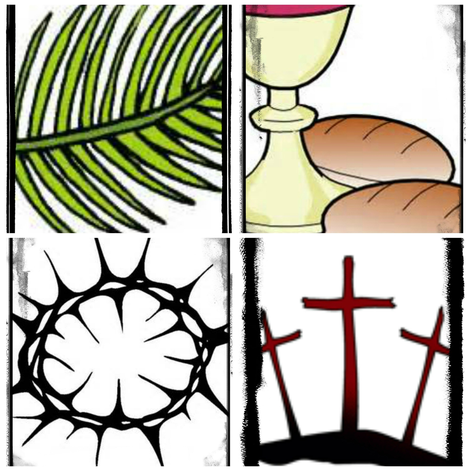 2000x2000 Christian Holy Week Clip Art Cliparts
