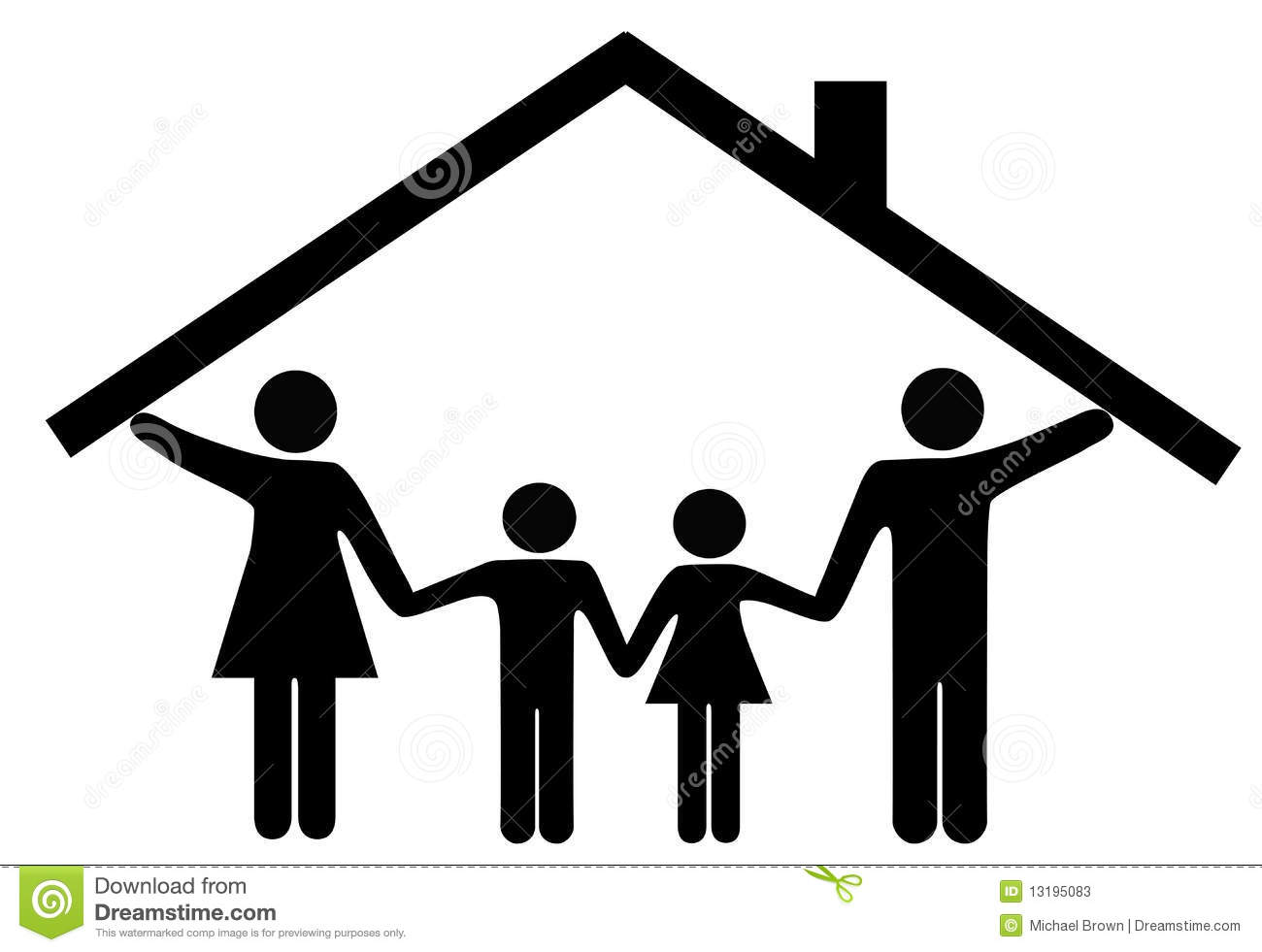 Home And Family Clipart Free Download Best Home And