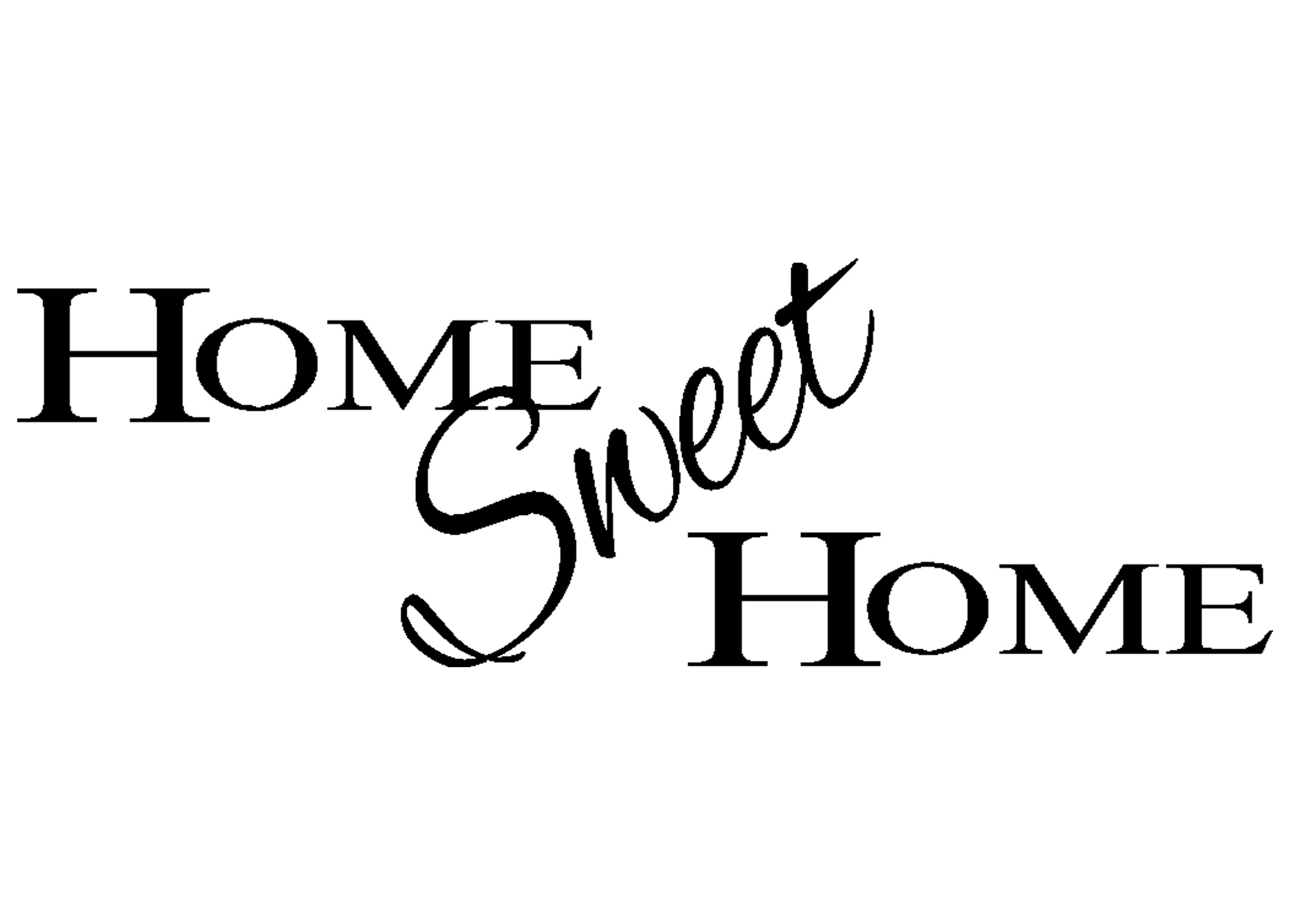 2100x1500 Home Sweet Sign Clip Art Pictures