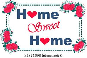 293x194 Home Sweet Home Clip Art And Stock Illustrations. 1,856 Home Sweet