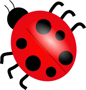 285x298 Home Sweet Home Clipart 326 Ladybug 3 Clip