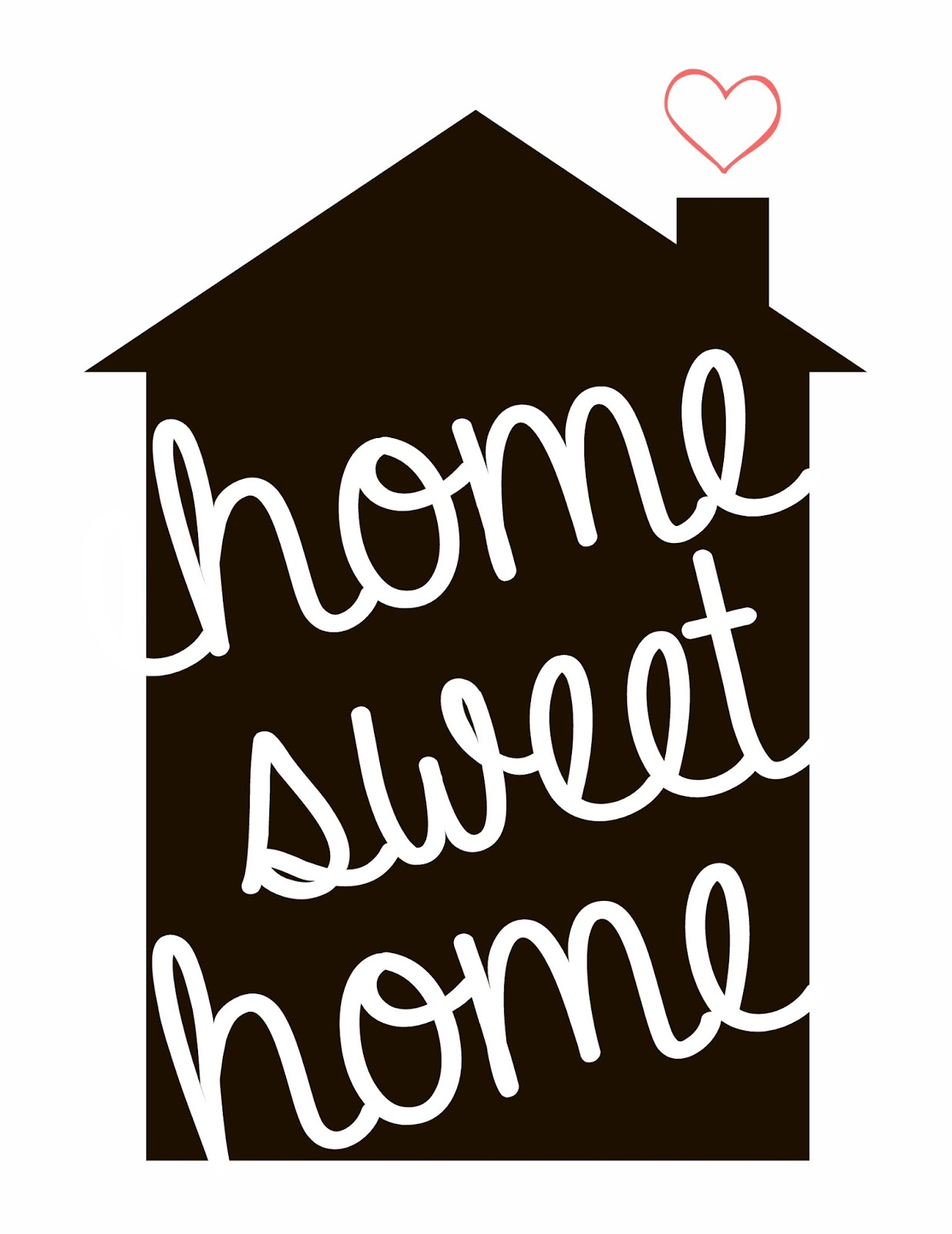 1235x1600 Silhouette Home Sweet Home