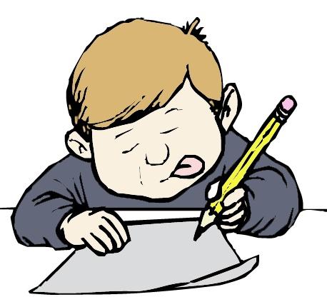 458x423 No homework clipart free clip art images