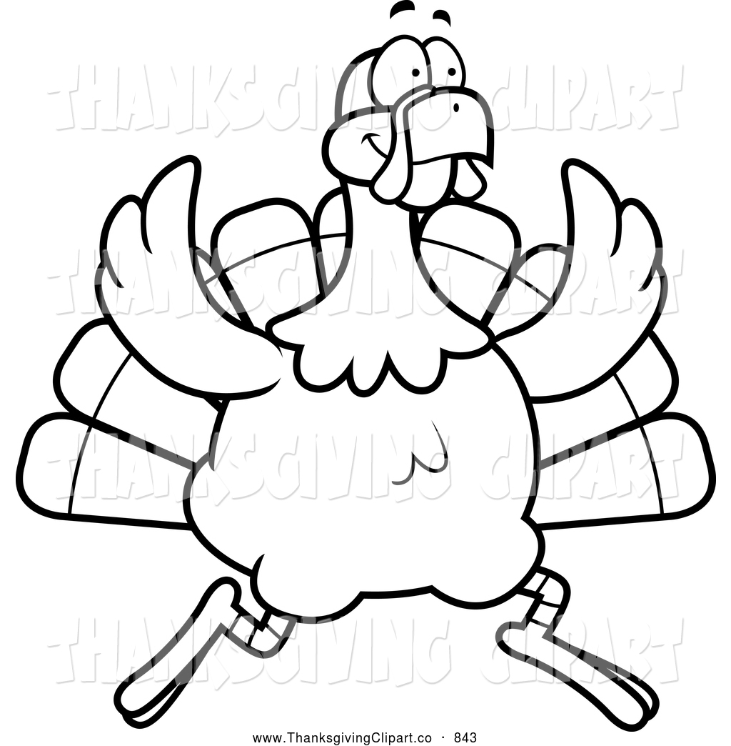 1024x1044 Happy Thanksgiving Turkey Clipart Black And White Clipart Panda