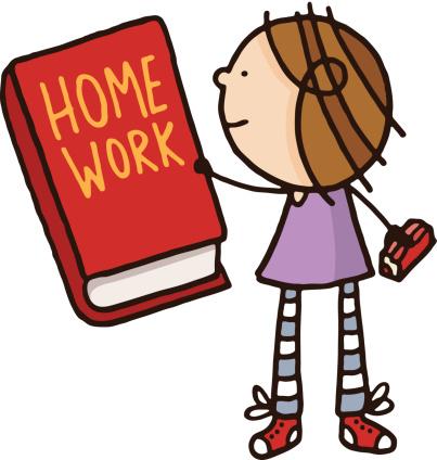 403x424 Homework Book Clipart