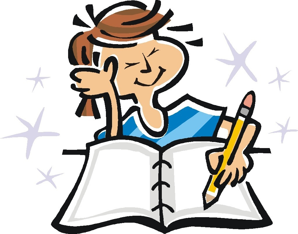 1024x806 Student Turning In Homework Clipart