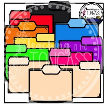Homework Folder Clipart