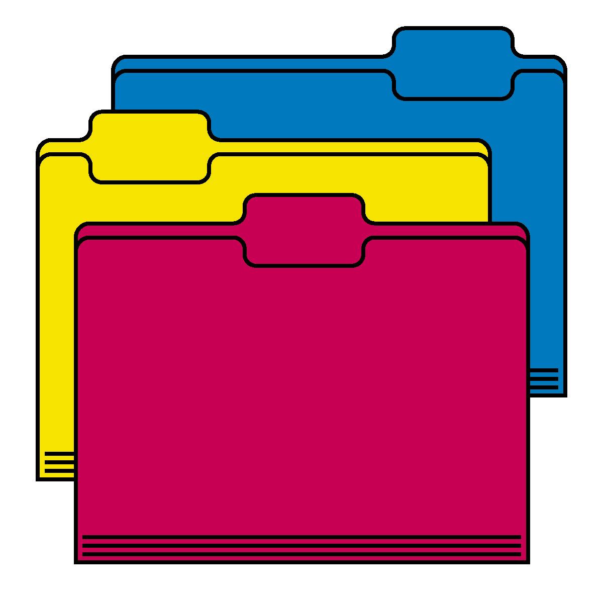 1200x1200 Colouful Clipart Folder