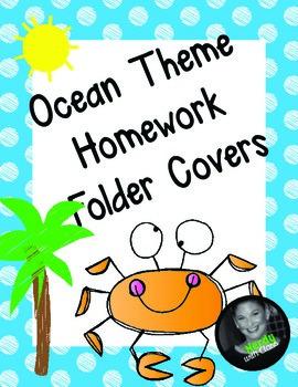 270x350 Homework Folder Cover Teaching Resources Teachers Pay Teachers