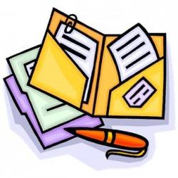 250x250 Homework Clipart Take Home Folder