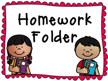 350x263 2x4 Homework Folder Labels By Iteach2ndanab Teachers Pay Teachers