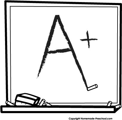 409x402 Homework Clipart Chalkboard