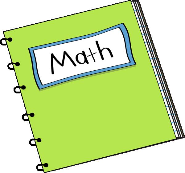 600x563 Math Notebook Clip Art Image Clipart Panda