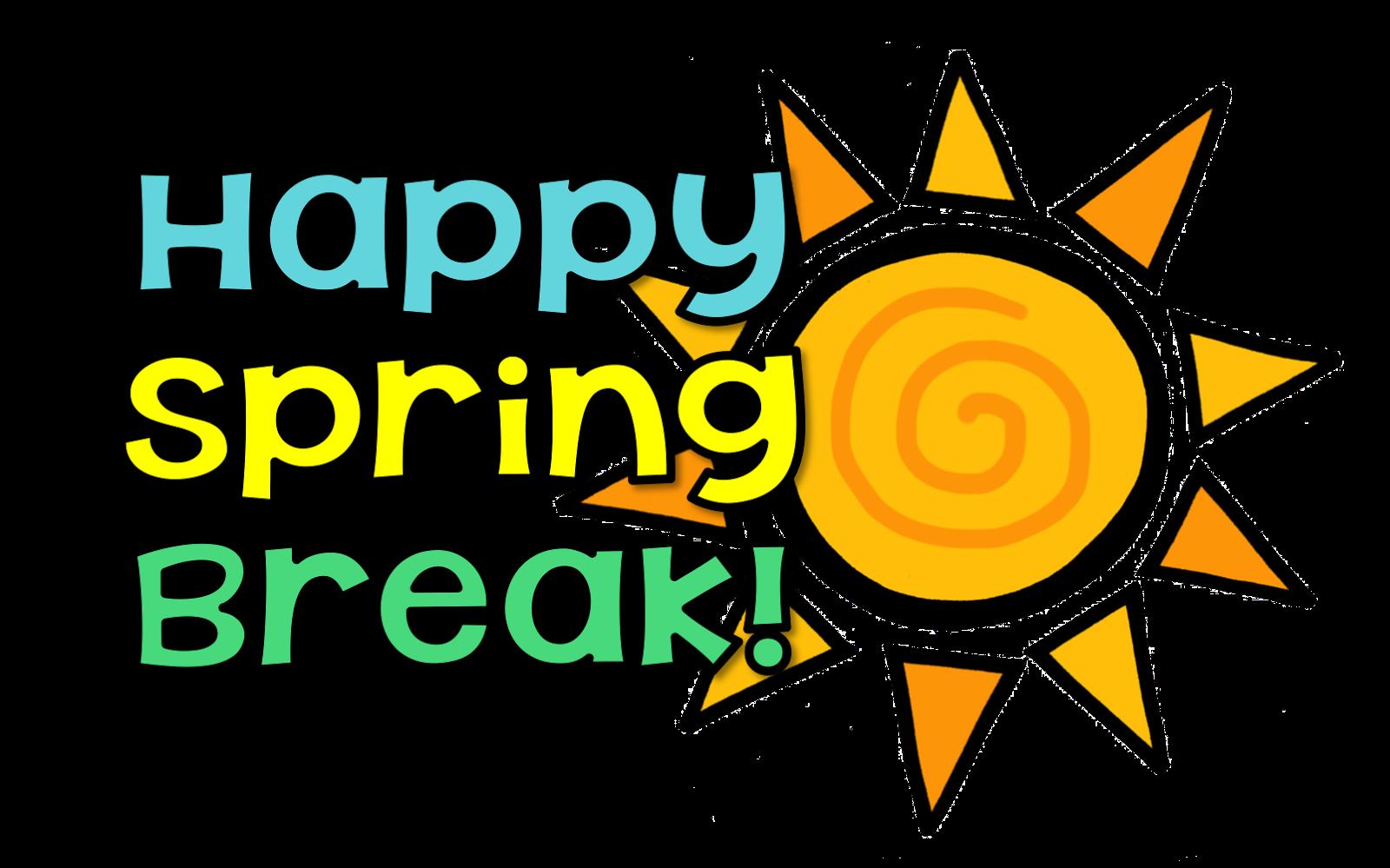 1600x999 Spring Break Clip Art