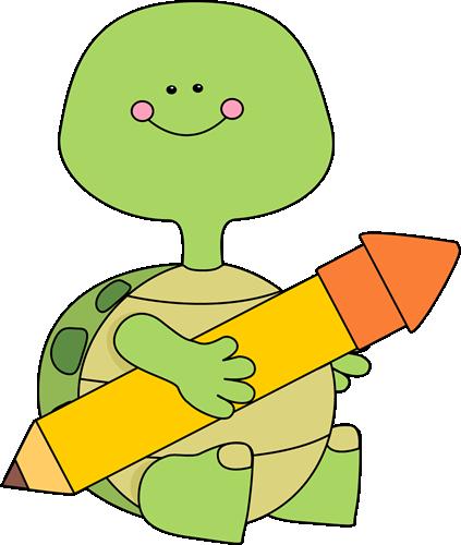 423x500 Turtle Clipart