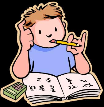 339x348 Student Turning In Homework Clipart