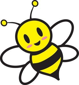 278x300 Honey Bee Clipart Image Cartoon Honey Bee Flying Around Honey