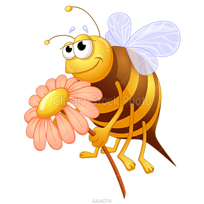 400x400 Honey Clipart Bee Flower