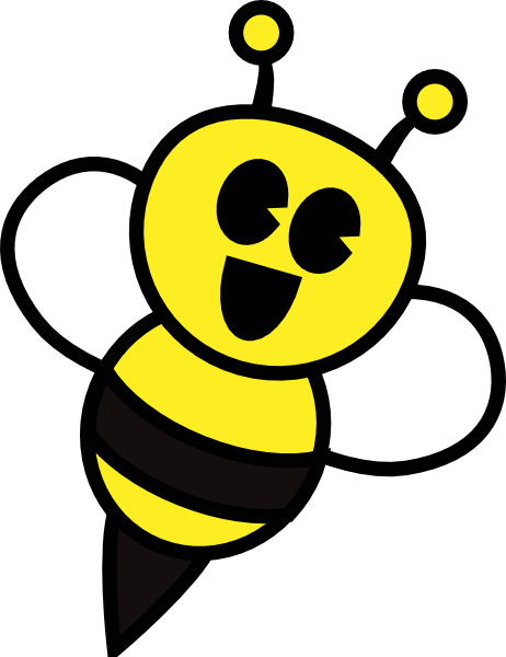462x600 Bumble Bee Clipart
