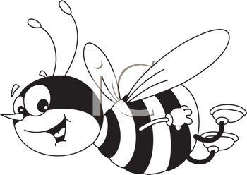 350x248 Bumblebee Clipart Drawn
