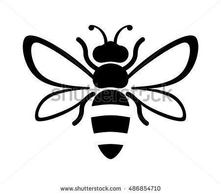 450x395 Drawn Bee Honey Bee