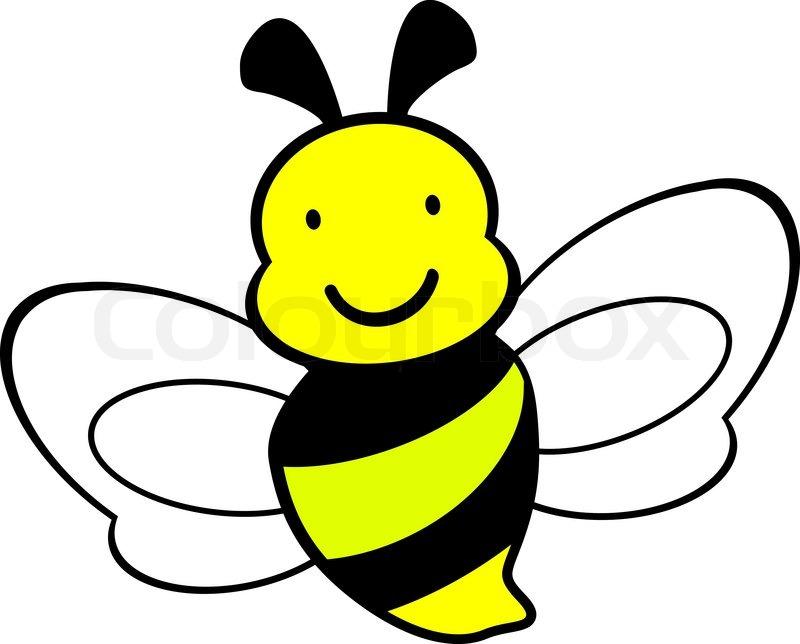 800x644 Bee Icon,bee Drawing,vector, Cartoons Stock Vector Colourbox