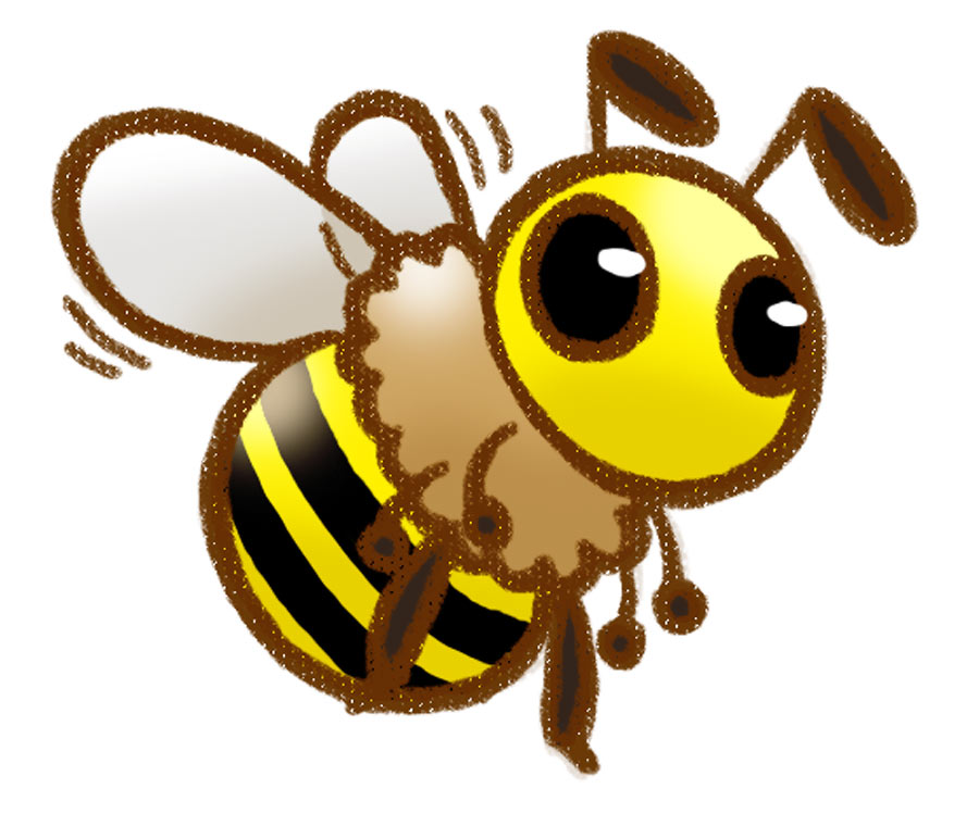 900x760 Cute Honey Bee Drawings Clipart