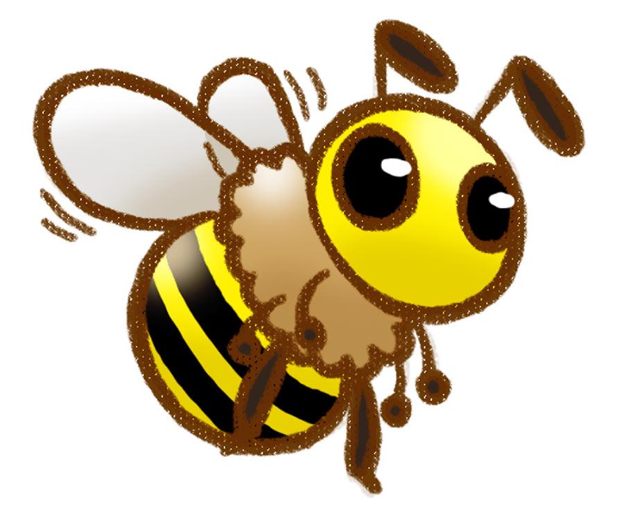 900x760 Cute Honey Bee Drawings Clipart