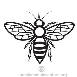 300x300 88 Honey Bee Clip Art Free Public Domain Vectors