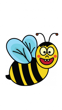 215x382 How To Draw A Cute Bee, Easy Step By Step Drawing Tutorial